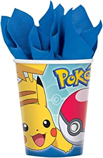 Sun and Moon Pokemon 9oz Paper Cups (8ct)