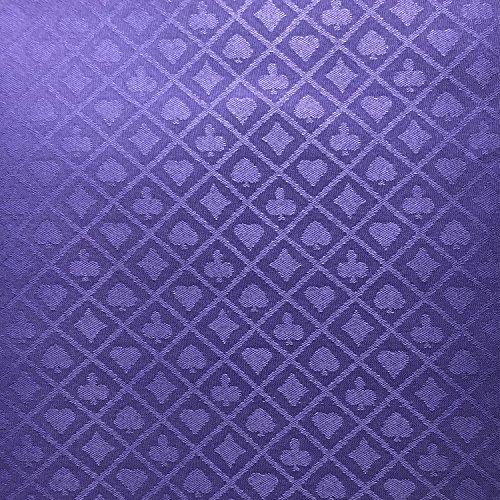 YH Poker 274,3x 152,4cm Abschnitt Geeignet Poker Speed Reinigungstuch, Violett