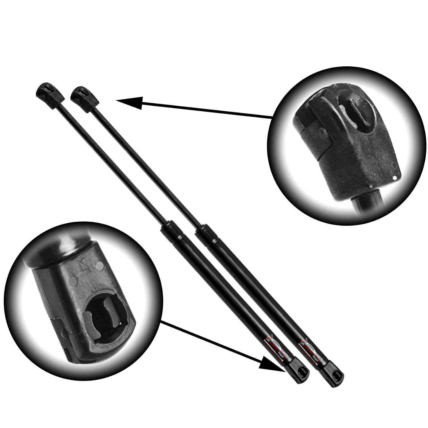 Qty (2) StrongArm 7040 Fits Toyota Highlander 14 To 17 Liftgate Lift Supports W/O Brackets
