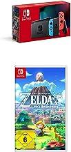 Nintendo Switch Konsole - Neon-Rot/Neon-Blau (neue Edition) + The Legend of Zelda: Link's Awakening [Nintendo Switch]