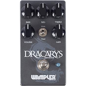 Wampler Dracarys High Gain Distortion Guitar Effects Pedal
