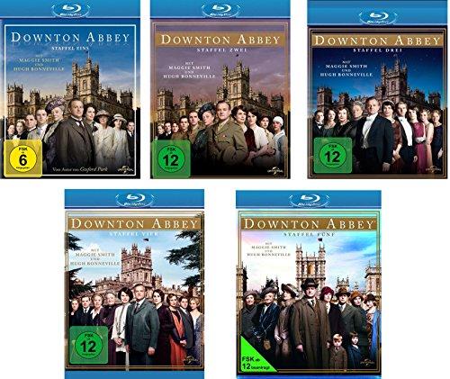 Downton Abbey - Staffel 1 - 5 im Set - Deutsche Originalware [16 Blu-rays]