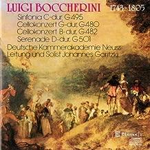 Boccherini: Two Cello Concertos / Sinfonia / Serenade
