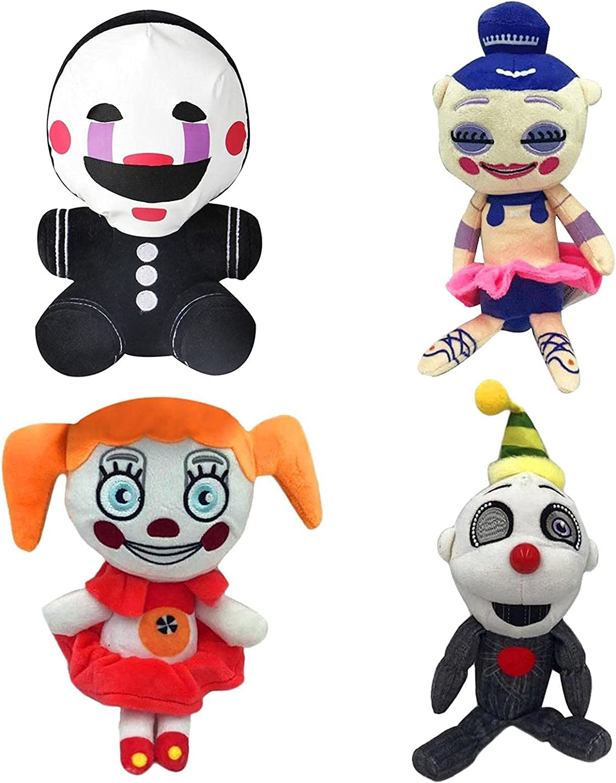 Enjoyyouselves 4 Pcs 18Cm Cute FNAF Plush Toys wholesale Credence Anime Dolls