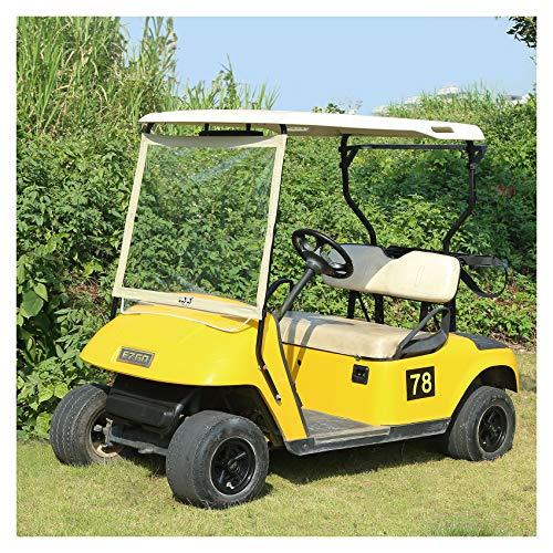 10L0L Deluxe Foldable Golf Cart Windshield Fits EZGO TXT Golf Cart