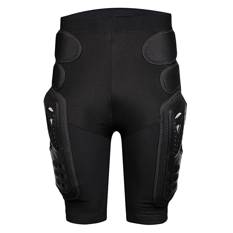 BARHAR Protective Armor Pants Hockey Knight Gear for Motorcycle Motocross Racing Ski Protect Pads Sports Hips Legs (Medium)