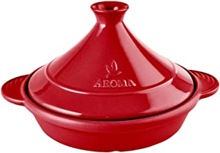 Aroma Housewares, Ruby Red Aroma DoveWare 11 Inch Tagine,