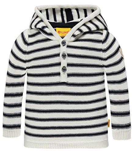 Steiff Collection Ringel-Pullover mit Kapuze Kinder Jungen
