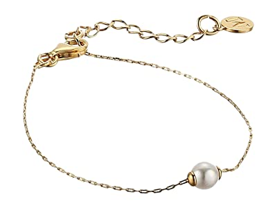 Majorica 5 mm Mini Round Pearl Bracelet (Yellow) Bracelet