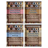 Flavored Hot Chocolate Packets   Gourmet Hot Cocoa Mix Variety Pack including Classic, Chocolate Raspberry, Salted Caramel, & Peppermint Hot Chocolate Mix   Perfect Hot Chocolate Gift Sets   32 Count