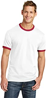 port and company ringer t shirt
