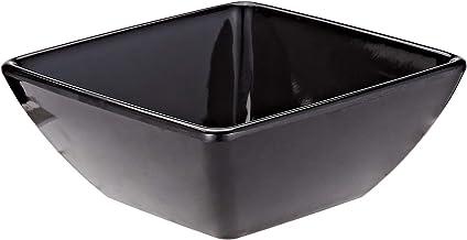 Harmony 7.7 Inch Foursquare Bowl - Black
