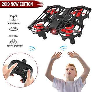 Seckton Gifts for 5-12 Year Old Boys Girls Mini Drone for Kids Remote Control Helicopter RC Flying Toy Quadcopter Indoor Outdoor Games Children Christmas Birthday Gifts