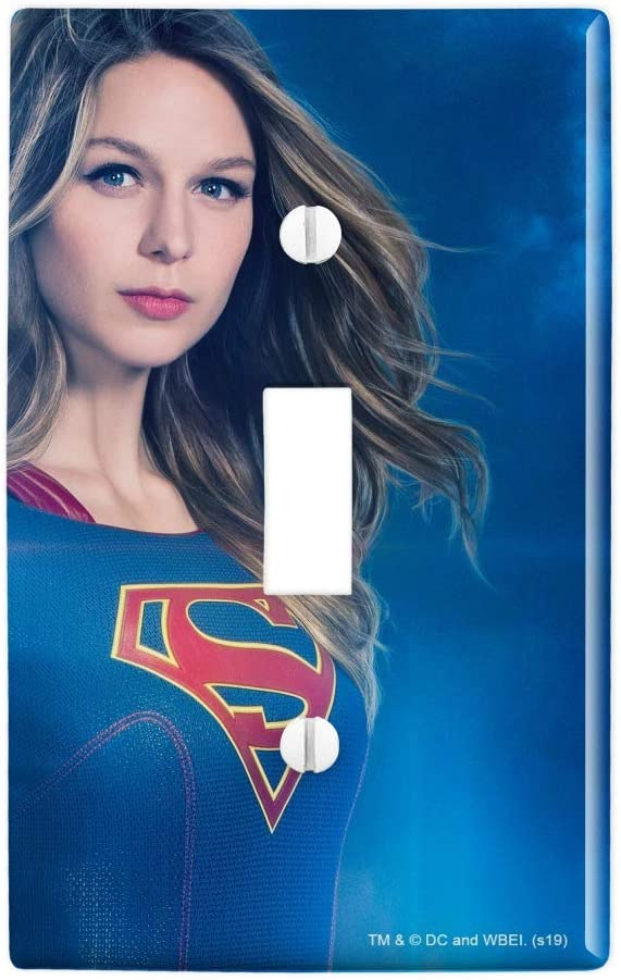 GRAPHICS & MORE Supergirl TV Series Supergirl Character Plastic Wall Decor Toggle Light Switch Plate Cover
