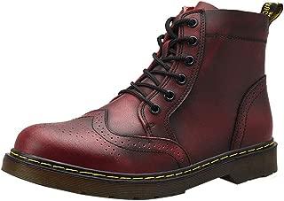 Zapatos Casual Moda De Los Hombres Invierno De Los Hombres De Fondo Grueso Talla Alto Ayudante Botas De Cuero