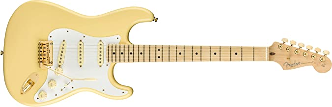 Fender Limited Edition American Professional Stratocaster Electric Guitar, Vintage White with Gold Hardware