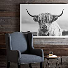Awesome Wall Art The Gate Open Cute Angus Cattle Canvas Painting Special Gift Birthday Gift Living Room Decor