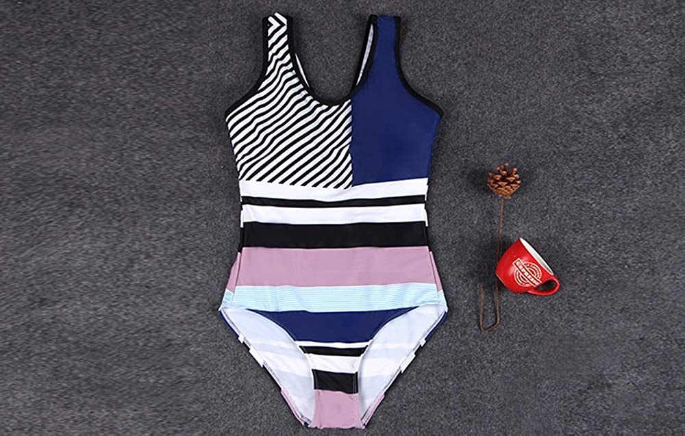 Ucoco Swimsuit for Women One Pieces Athletic Bathing Suits Cover up