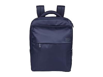 Lipault Paris Large Laptop Backpack (Navy) Backpack Bags
