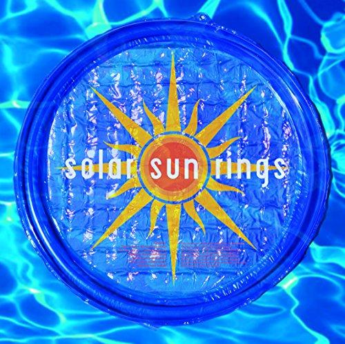 Solar Sun Rings Sunburst Design 6 Pack