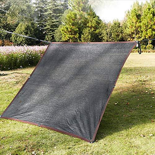 WXQIANG 85% tela de malla negra con protección solar resistente a los rayos UV, resistente a los rayos UV, para exteriores, patio, jardín, planta, invernadero, granero, aislamiento térmico,