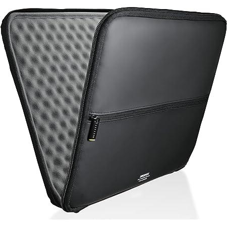 エレコム パソコンケース タブレットケース インナーバッグ 13.3インチ対応 MacBook Air, Pro 13inchモデル 【2020年11月発売 M1チップモデル対応】 衝撃吸収 ZEROSHOCK スリム ブラック ZSB-IBUB02BK