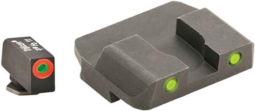AmeriGlo Spartan Operator Sight Set for Glock 17/19, Yellow