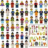 This product includes 48 minifigures, package of accessories Every mini people is in independent package, more convenient to install. provide real benefits to child's learning, from improved hand-eye coordination to enhanced problem-solving skills. T...