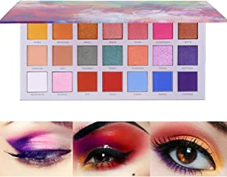 Docolor Professiona 21 Colors Pigmented Eyeshadow Palette Fantasy Matte Glitter Highly Long Lasting Pressed Pearls Makeup 21 Color Palettes