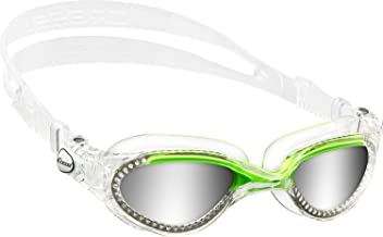 Cressi Flash - Adult Premium Swimming Goggles - 100% Anti UV