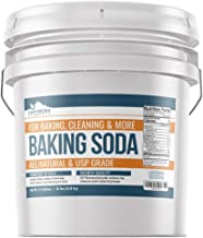 Baking Soda (3.5 gallon (35 lb)) by Earthborn Elements, All-Natural, USP Pharmaceutical Grade, for Cooking, Baking, Cleaning, Deodorizing, & More