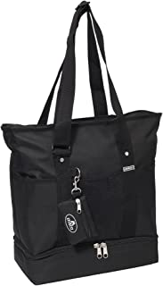 Luggage Deluxe Shopping Tote, Black, Black, One Size