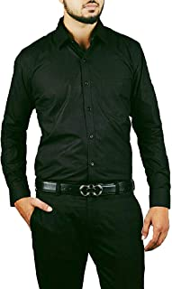 DYMK Formal Full Sleeves Cotton Shirts for Men