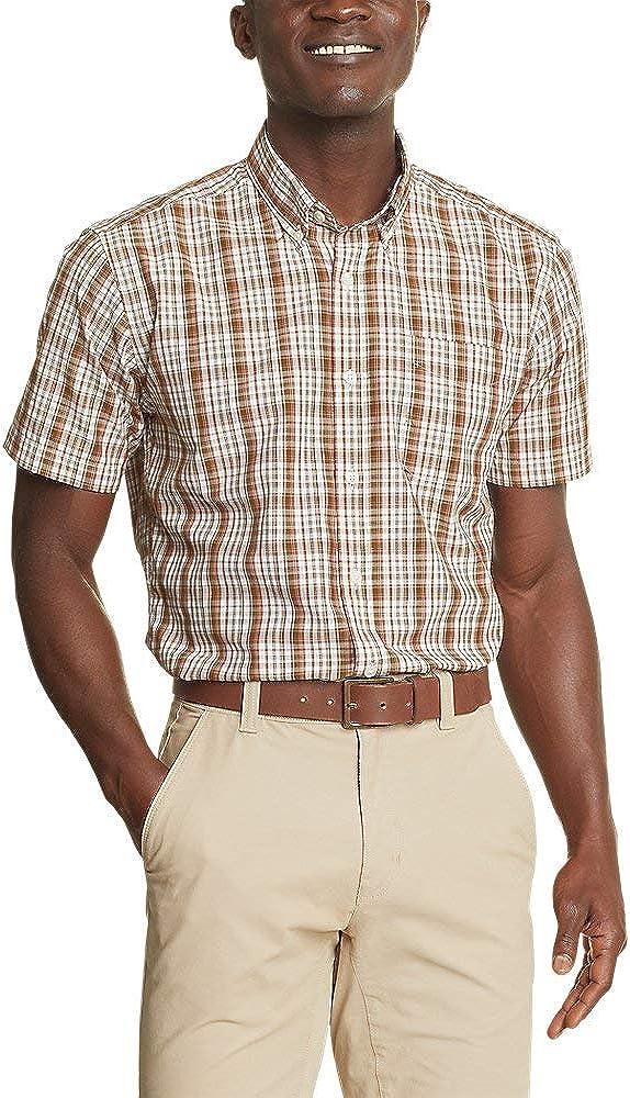 Eddie Bauer Men's Getaway Short-Sleeve Shirt - Pattern