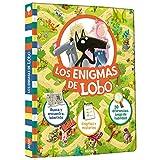 Los enigmas de Lobo. Busca y encuentra y laberinto. Enigmas y misterios. 30 diferencias y juego de habilidad.