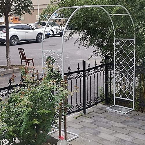 Resistente Rose Archway Garden Arch Arbor Pérgola Cenador Enrejado De Metal Soporte De Exhibición De Flores para Ceremonia Y Recepción Decoración De Fondo