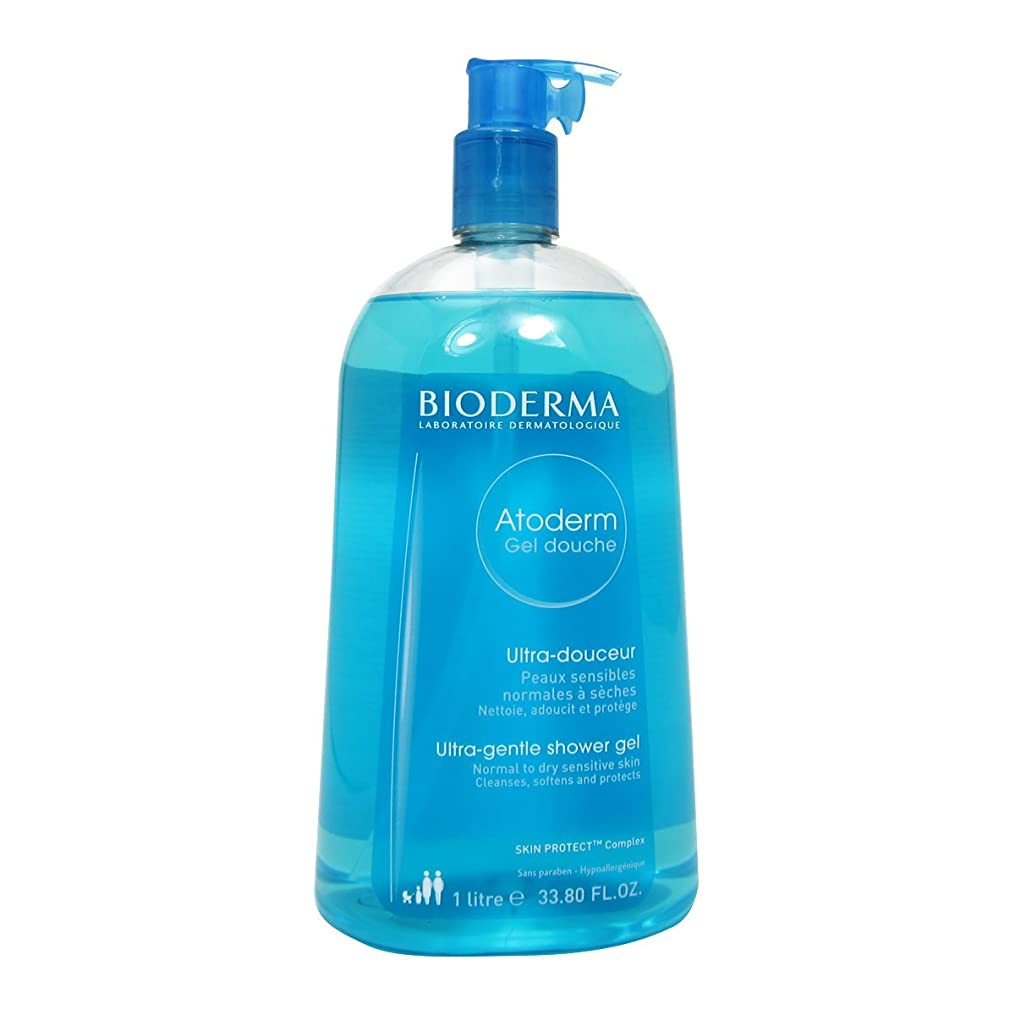 医師国家革命Bioderma Atoderm Gentle Shower Gel 1000ml [並行輸入品]