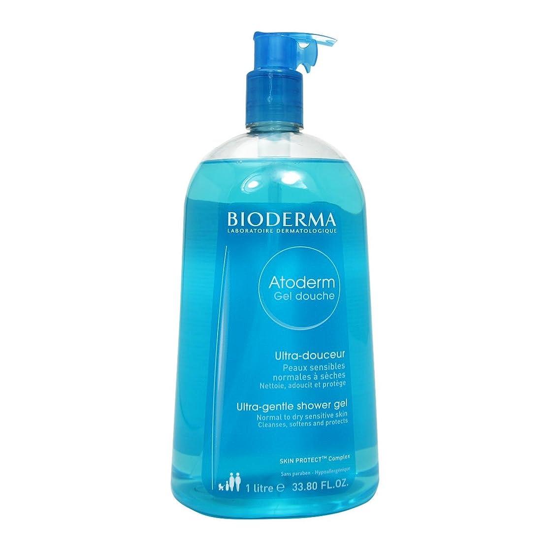プロフェッショナル流暢無実Bioderma Atoderm Gentle Shower Gel 1000ml [並行輸入品]