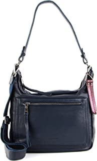 """FREDsBRUDER """"Always There Ledertasche Shopper Handtasche Umhängetasche - 23x24x11cm (B x H x T)"""