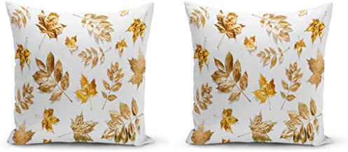 Set of 2 - Decorative, Fashion, Colorful 3D Digital Printing Square Cushion Covers for Sofa, Chair, Couch, Kitchen, Home D...