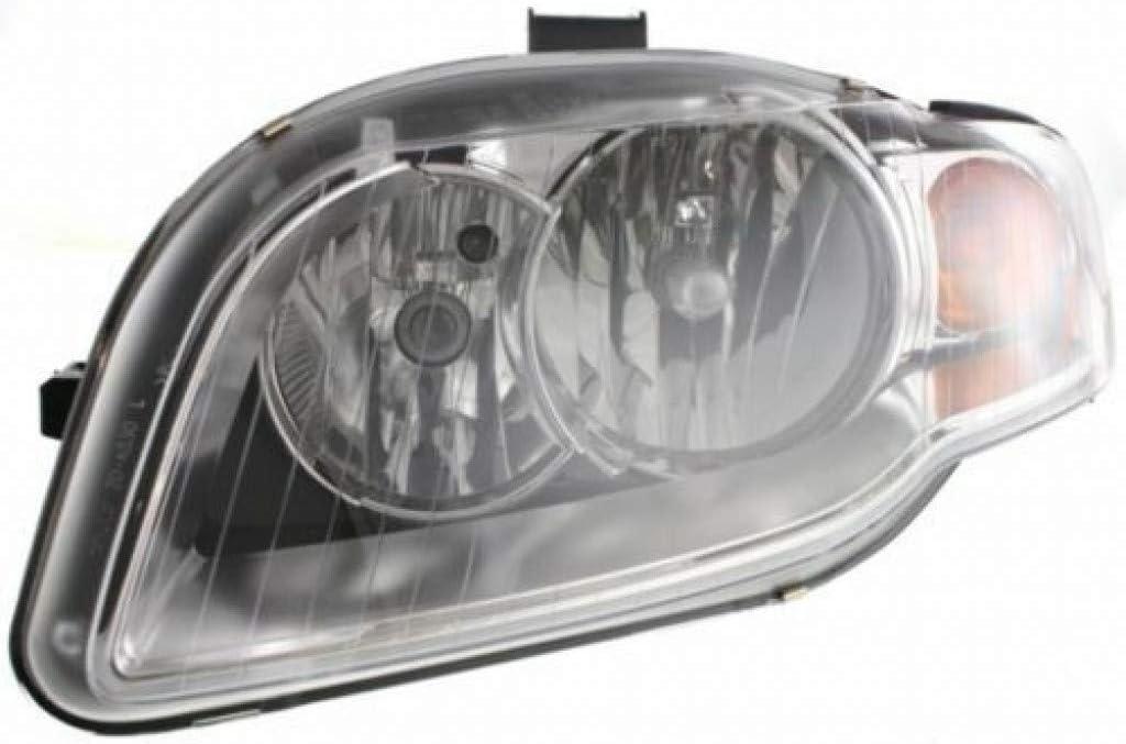 Max 65% OFF For Audi A4 Max 43% OFF Headlight 2005 06 07 Driver Wagon Ha Sedan Side 2008