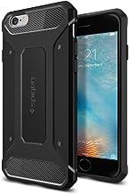 【Spigen】 iPhone6s ケース/iPhone6 ケース 対応 TPU 耐衝撃 米軍MIL規格取得 カプセル ウルトラ ラギッド SGP11597 (ブラック)