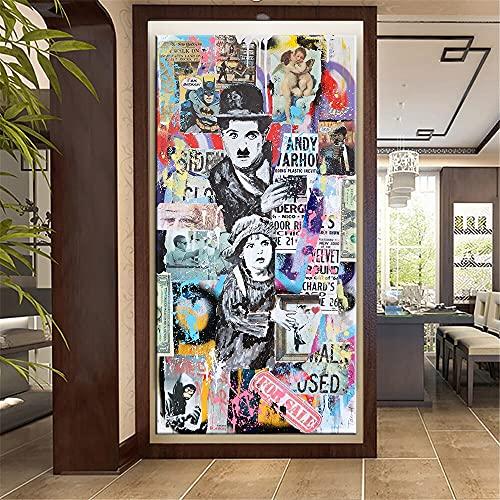 Yegnalo Graffiti Carteles e Impresiones Arte Abstracto Lienzo Pintura Pared Artista hogar Lienzo Decorativo Arte de Pared