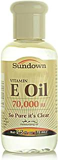 Sundown Naturals Vitamin E Oil, 70,000 IU 75 ml