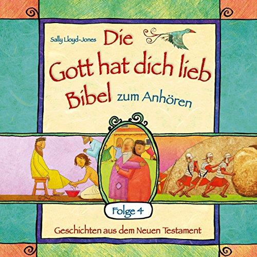 "Die ""Gott hat dich lieb""-Bibel zum Anhören 4 audiobook cover art"