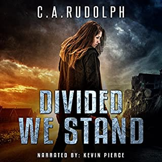 Divided We Stand     What's Left of My World Series, Book 4              Written by:                                                                                                                                 C.A. Rudolph                               Narrated by:                                                                                                                                 Kevin Pierce                      Length: 10 hrs and 45 mins     3 ratings     Overall 4.7