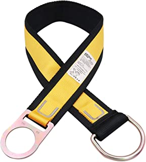 X XBEN Anchor Straps, Heavy Duty Cross Arm Strap with D-Rings, 3ft Tie Off Safety Sling Anchorage Connector Fall Protection Harness Lanyard Construction PPE Kit