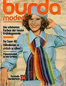 Burda Moden 02/1975 Die schönsten Farben der neuen Frühlingsmode