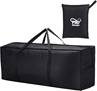 PSD Lifestyles Patio Cushion Storage Bag - Waterproof Patio Watcher for Outdoor and Indoor Storage Use Helping Keep Your Home & Garden Neat And Tidy 46x14x20 inches