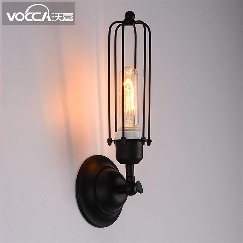 MDERTY LED Wandleuchte Wandlampe LoftIndustrial Wind lange Garage Gang Treppe Auenbeleuchtung Wohnzimmer Schlafzimmer Treppenhaus Flur